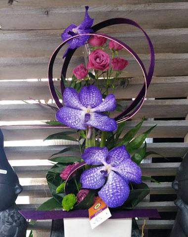 Composition florale - Briec